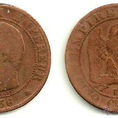 Monedas antiguas de Europa: FRANCIA (NAPOLEON III) 5 CENTIMES 1856. Lote 54741882
