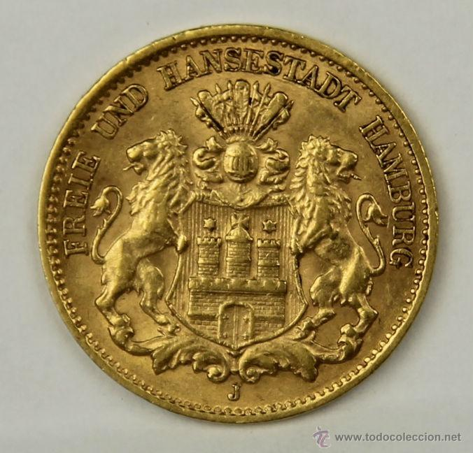 Mo 003 Moneda De Oro Deutsches Reich 1906 J Comprar Monedas
