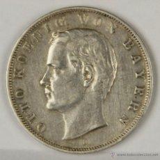 Monedas antiguas de Europa: MO-009. MONEDA DE PLATA. OTTO KOENIG VON BAYERN. D. 1909.. Lote 50319522