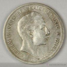 Monedas antiguas de Europa: MO-010. MONEDA DE PLATA. WILHELM II DEUTSCHER KAISER V. PREUSSEN. 1899. FÜNF MARK.. Lote 50319844