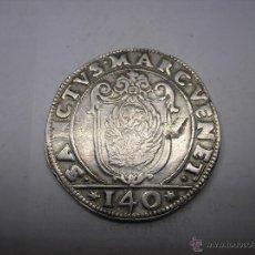 Monedas antiguas de Europa: ITALIA , VENECIA. ESCUDO =140 SOLDI, DE PLATA ,FRANCESCO ERIZZO, 1631-1646. Lote 54932480