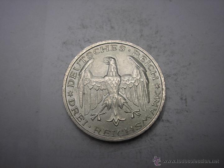 Alemania Republica De Weimar 3 Reichsmark De Comprar Monedas