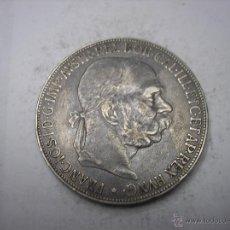Monedas antiguas de Europa: AUSTRIA, 5 CORONAS DE PLATA DE 1907. EMPERADOR FRANCISCO JOSÉ. Lote 54979837