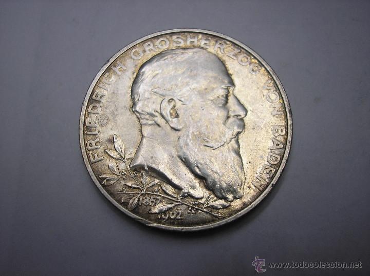 alemania , baden. 2 marcos de plata de 1902. 50 - Comprar Monedas ...