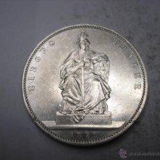 Monedas antiguas de Europa: ALEMANIA, PRUSIA. 1 THALER DE PLATA DE 1871 A. VICTORIA SOBRE FRANCIA. Lote 55036281