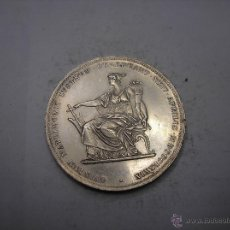 Monedas antiguas de Europa: AUSTRIA, 2 FLORINES DE PLATA DE 1879. BODAS DE ORO DE LOS REYES. Lote 55036600