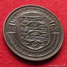 Monedas antiguas de Europa: JERSEY 1/12 SHILLING 1926 KM# 14. Lote 55382636