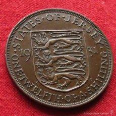 Monedas antiguas de Europa: JERSEY 1/12 SHILLING 1931 KM# 16. Lote 55382968
