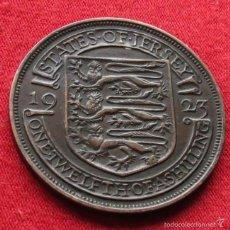 Monedas antiguas de Europa: JERSEY 1/12 SHILLING 1923 KM# 14. Lote 55383291