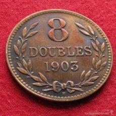 Monedas antiguas de Europa: GUERNSEY 8 DOUBLES 1903 KM# 7. Lote 55553165