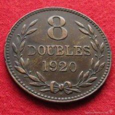 Monedas antiguas de Europa: GUERNSEY 8 DOUBLES 1920 KM# 14. Lote 55553358
