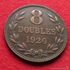Monedas antiguas de Europa: GUERNSEY 8 DOUBLES 1920 KM# 14. Lote 55553424