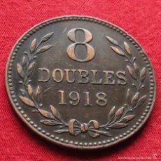 Monedas antiguas de Europa: GUERNSEY 8 DOUBLES 1918 KM# 14. Lote 55553466