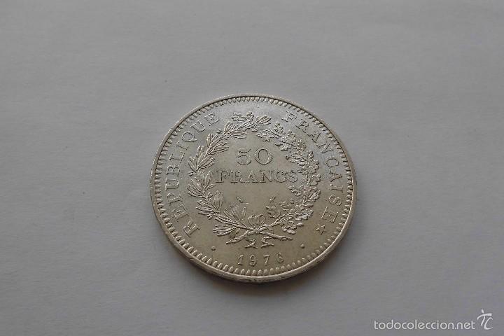 Monedas antiguas de Europa: Francia 50 Francos 1976 SC - Foto 2 - 56049578