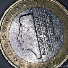 Monedas antiguas de Europa: MONEDA 1 EURO 1999 HOLANDA CIRCULADA - MONEDAS USADAS. Lote 56166680