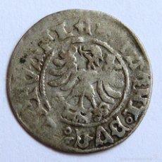 Monedas antiguas de Europa: 1/2 DE GROSH DE LITUANIA. Lote 56233045