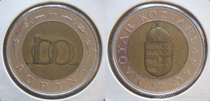 Moneda De Hungria 100 Forint 1997 Comprar Monedas Antiguas De
