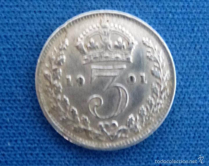 Victoria dei gratia 1901  plata - Sold through Direct Sale