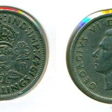 Monedas antiguas de Europa: GRAN BRETAÑA - INGLATERRA - TWO SHILLINGS / FLORIN 1947 ( MBC ) - GEORGE VI. Lote 57418731