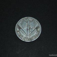 Monedas antiguas de Europa: MONEDA DE 2 FRANCOS - FRANCIA - 1943 - II GUERRA MUNDIAL. Lote 57439851