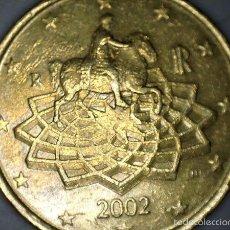 Monedas antiguas de Europa: 50 CENTIMOS CTM EURO ITALIA 2002 CIRCULADA - MONEDAS USADAS. Lote 57629123