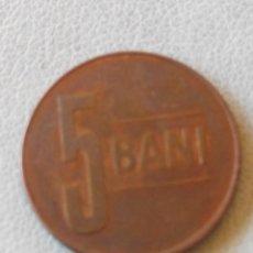 Monedas antiguas de Europa: MONEDA RUMANIA 5 BANI 2008. MBC. Lote 57813557
