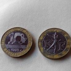 Monedas antiguas de Europa: MONEDA FRANCIA 10 FRANCS FRANCOS 1990. EBC. Lote 107838120