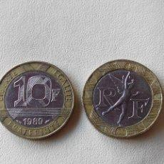 Monedas antiguas de Europa: MONEDA FRANCIA 10 FRANCS FRANCOS 1989. EBC. Lote 114953239