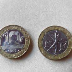 Monedas antiguas de Europa: MONEDA FRANCIA 10 FRANCS FRANCOS 1991. EBC. Lote 57818399