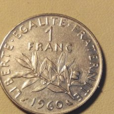 Monedas antiguas de Europa: MONEDA FRANCIA 1 FRANC 1960.MBC. Lote 57839208