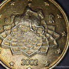 Monedas antiguas de Europa: 50 CENTIMOS CTM EURO ITALIA 2002 CIRCULADA - MONEDAS USADAS. Lote 57931094