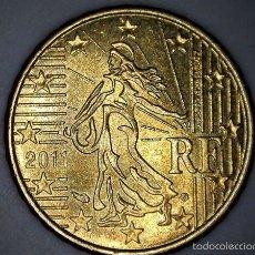 Monedas antiguas de Europa: 10 CENTIMOS CENT EURO FRANCIA 2011 CIRCULADA - MONEDAS USADAS. Lote 57931127