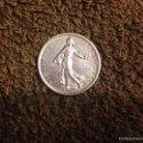 Monedas antiguas de Europa: MONEDA DE 5 FRANCOS DE PLATA FRANCIA, AÑO 1960. Lote 57961095