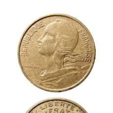 Monedas antiguas de Europa: FRANCIA, 10 CÉNTIMOS 1963.. Lote 58235871