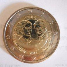 Monedas antiguas de Europa: MONEDA 2 EUROS CONMEMORATIVA BÉLGICA 2011 - DÍA INTERNACIONAL DE LA MUJER TRABAJADORA. Lote 194207782