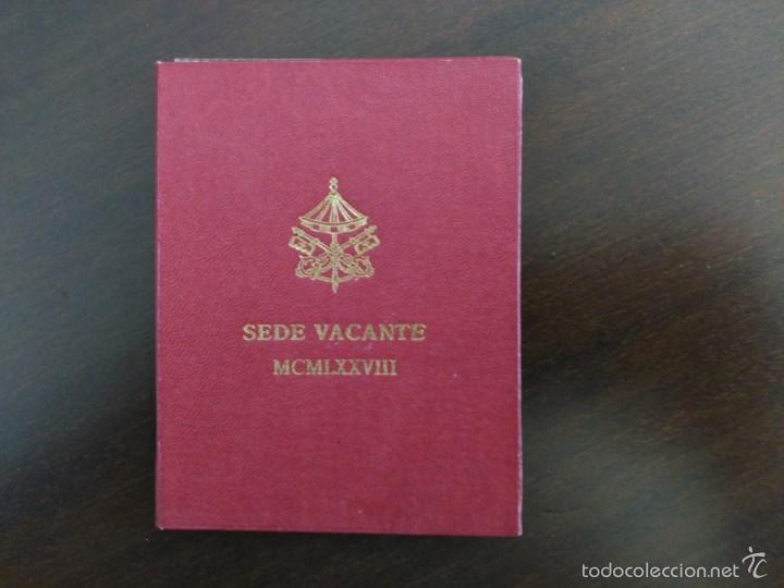 VATICANO SEDE VACANTE 1978. 500 LIRAS, PLATA, SIN CIRCULAR (Numismática - Extranjeras - Europa)