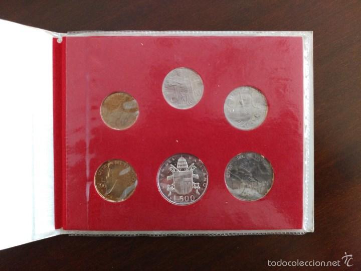 Monedas antiguas de Europa: VATICANO, CARTERA OFICIAL JUAN PABLO II, 1980 - Foto 3 - 58470626