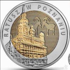 Monnaies anciennes de France: POLONIA 5 ZLOTYCH 2015 AYUNTAMIENTO DE POZNAN. Lote 228213390