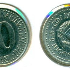 Alte Münzen aus Europa - YUGOSLAVIA 10 DINAR 1987 ( EBC- ) - 58592186