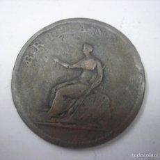 Monedas antiguas de Europa: UK. PENNY DE COBRE DE 1806, REY JORGE III. Lote 58812726