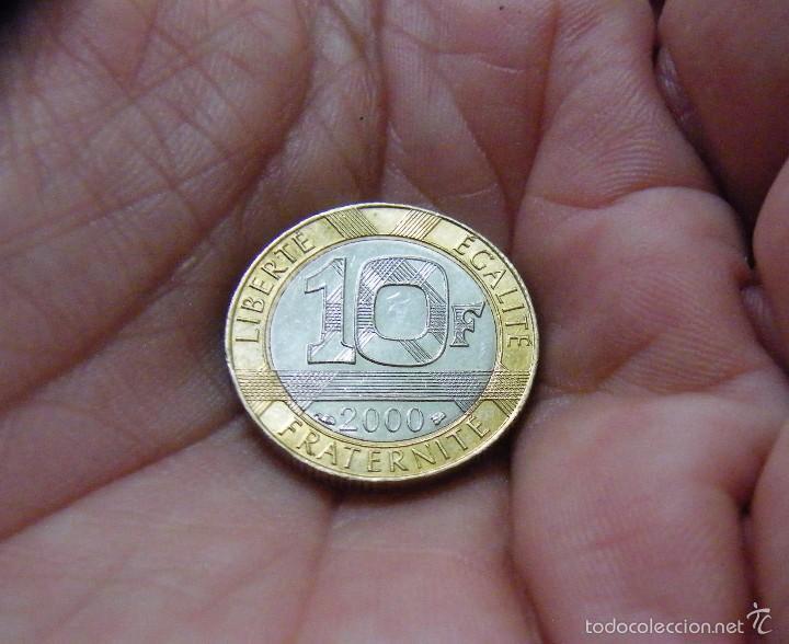 FRANCIA 10 FRANCOS 2000 --COMO NUEVA-- (Numismática - Extranjeras - Europa)