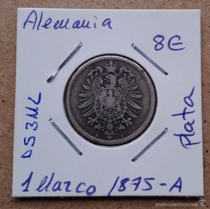 moneda de alemania - 1 marco del año 1875-a - p - Comprar Monedas ...