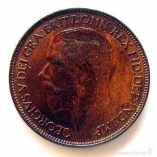 Monedas antiguas de Europa: MONEDAS DEL MUNDO . INGLATERRA . GEORGIUS V. HALF PENNY 1925 . MBC+. Lote 60267671