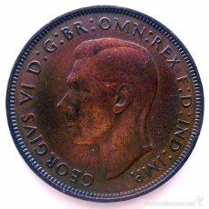 Monedas antiguas de Europa: MONEDAS DEL MUNDO . INGLATERRA . GEORGIUS VI . 1 PENNY 1948 . MBC. Lote 60271547