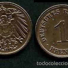 Monedas antiguas de Europa: IMPERIO ALEMAN 1 PFENNIG AÑO 1908 G ( AGUILA ) Nº5. Lote 60531035