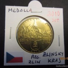 Monedas antiguas de Europa: REPUBLICA CHECA MEDALLA 2010 SET . Lote 60667963