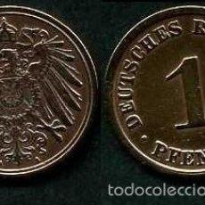 Monedas antiguas de Europa: IMPERIO ALEMAN 1 PFENNIG AÑO 1908 A ( AGUILA ) Nº4. Lote 60675971
