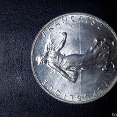 Monedas antiguas de Europa: 2 FRANCOS FRANCIA PLATA 1919 S-C PRECIOSA. Lote 60762426