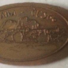 Monedas antiguas de Europa: 5 CÉNTIMOS DE EURO PRENSADOS EN FORMA DE SOUVENIR. RECUERDO TURÍSTICO DE PRAGA, REPÚBLICA CHECA.. Lote 60869727