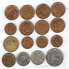 Monedas antiguas de Europa: LOTE DE MONEDAS EXTRANJERAS 16 MONEDAS. Lote 61252903